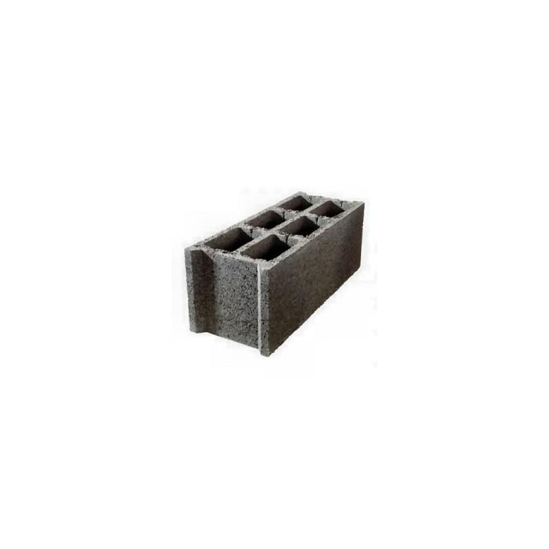 Bloc de bton plein bloc bton bancher pcm hautcm longcm for Bloc parpaing