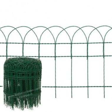 Bordure Grillage vert