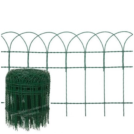 Bordure grillage vert batidrive balan bazeilles for Grillage hauteur 2m leroy merlin