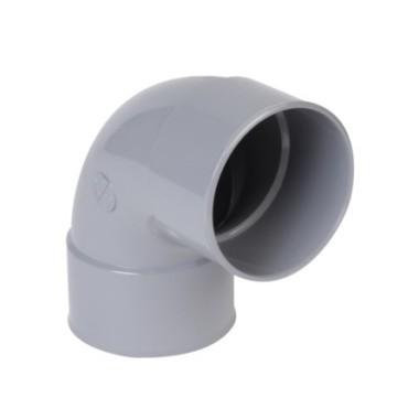 Coude PVC FF 87°/100