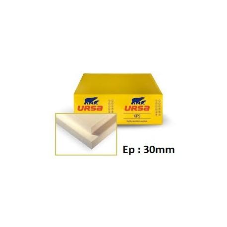 Polystyrène extrudé 1.25/0.60 - Epaisseur 30 mm