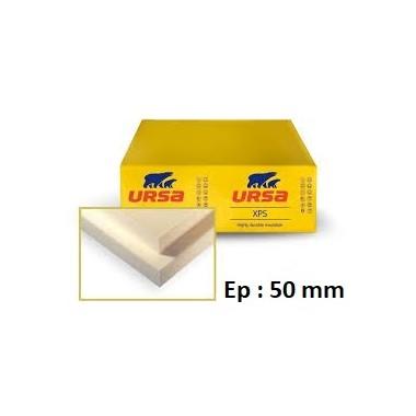 Polystyrène extrudé 1.25/0.60 - Epaisseur 50 mm