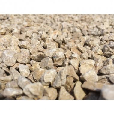 Graviers concassés - Gravillons calcaire blanc bag 1tonne