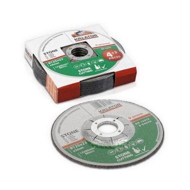 6 disques à tronçonner 125 mm