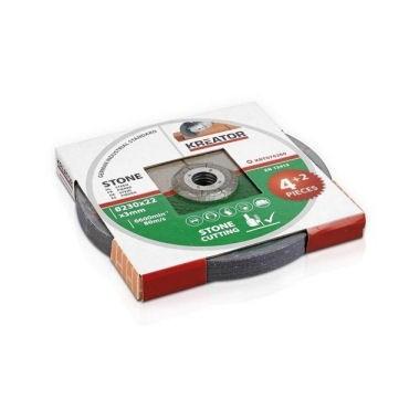 6 disques à tronçonner 230 mm