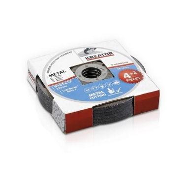 6 disques à découper 125 mm