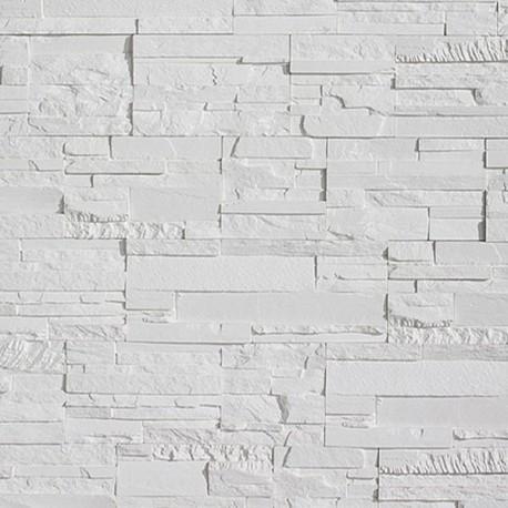 Plaquette de parement Bricostone Blanc