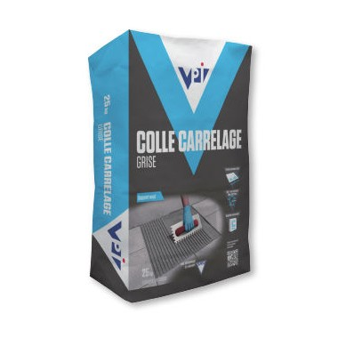 Colle carrelage grise - 25 kg