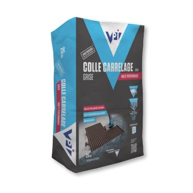 Colle carrelage grise haute performance - 25kg