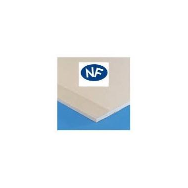 Plaque de plâtre BA13 NF