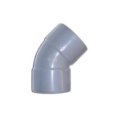 Coude PVC FF 45°/125